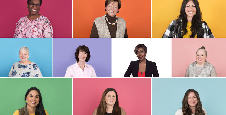 Montage of all Women of Distinction 2019